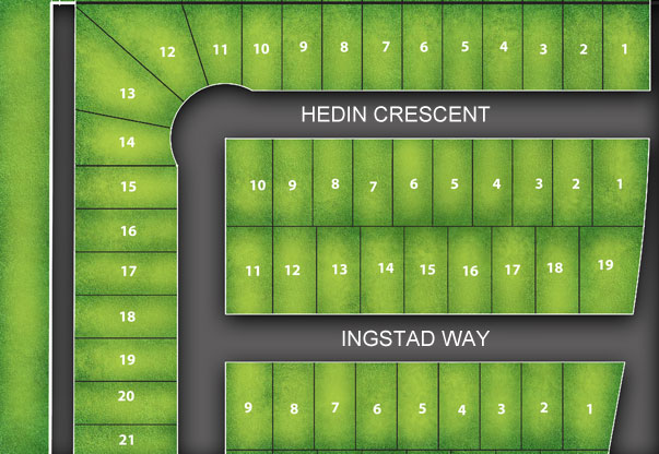 Hedin Crescent, Ingstad Way, VBJ Developments, Southridge