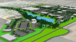 Industrial, 125 acre project, VBJ Developments