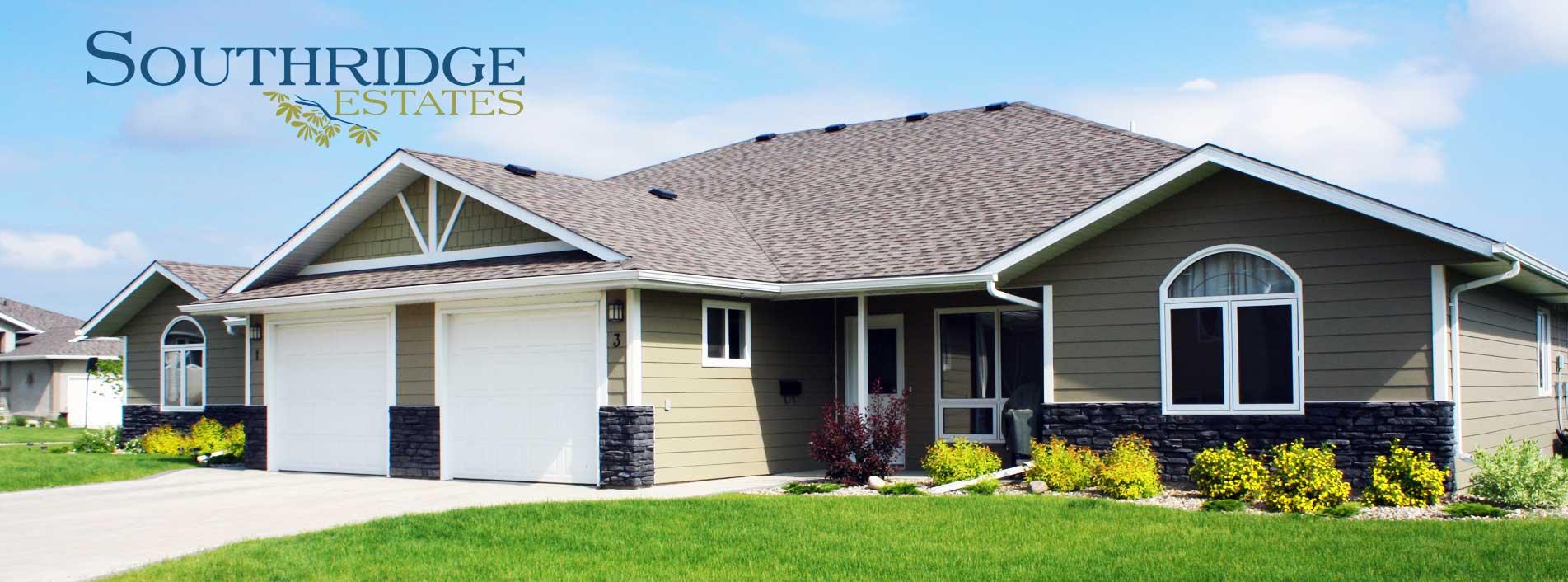 Southridge Townhouses, Southridge Estates, Brandon, VBJ Developments, J&G Homes
